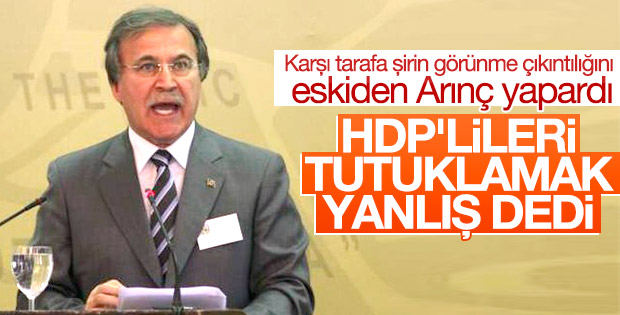 Mehmet Ali Şahin'den HDP'lilere operasyon yorumu