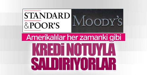 Standard&Poor's ve Moody's Türkiye'nin kredi notunu açıkaldı