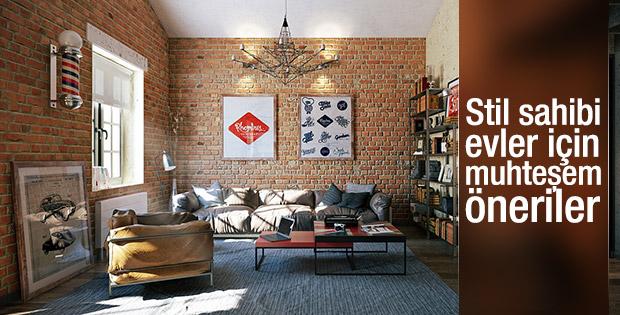 Stil sahibi bir ev dekorasyonu için öneriler