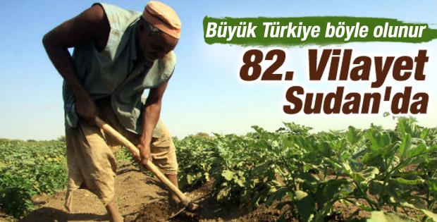 Türkiye Sudan'da 99 yıllığına arazi kiraladı
