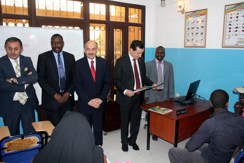 Sudan'da TİKA'nın Türkçe kurslarına büyük talep