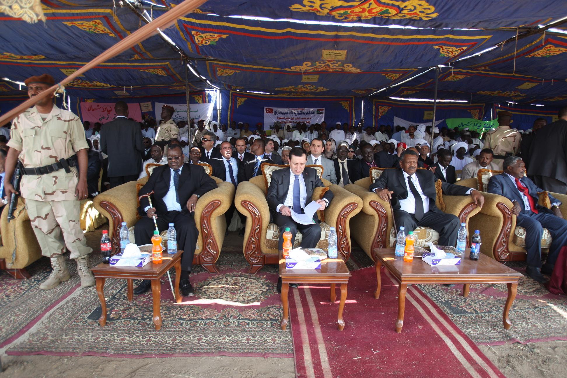 Sudan'da Türk hastanesi açıldı