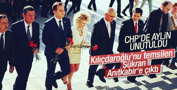 CHP'de Kılıçdaroğlu'nu Şükran Kütükçü temsil ediyor