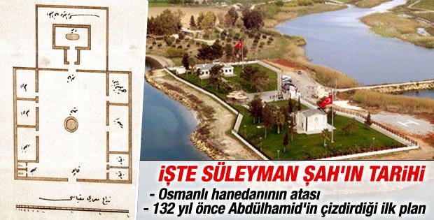 Süleyman Şah Türbesi'nin tarihi