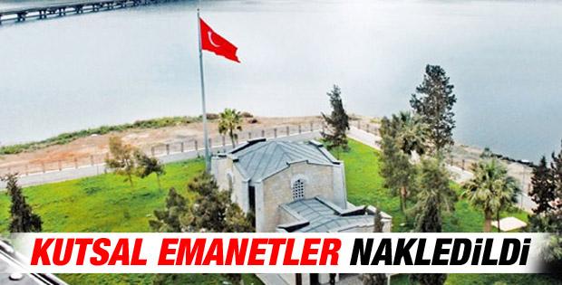 Süleyman Şah Türbesi'ndeki naaşlar nakledildi