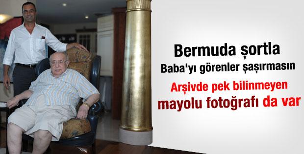Süleyman Demirel Bermudalı pantolonla görüntülendi