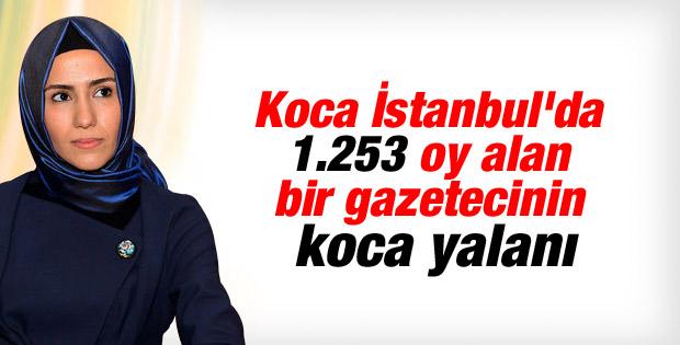 Sümeyye Erdoğan'ın nişanlandığı iddiası yalan çıktı