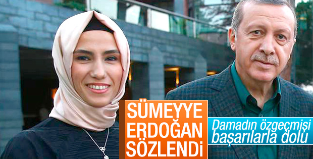 Sümeyye Erdoğan, Selçuk Bayraktar ile sözlendi