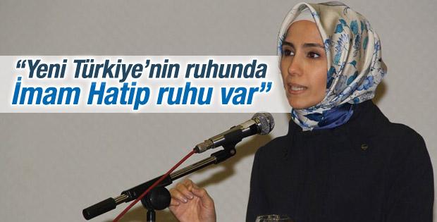 Sümeyye Erdoğan: Yeni Türkiye'de İmam Hatip ruhu var