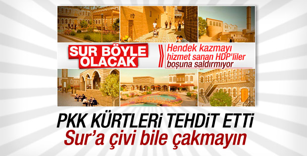 PKK Sur'un yenilenmesine karşı