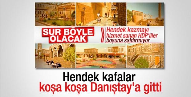 Diyarbakır'da belediye Sur kararını Danıştay'a taşıdı
