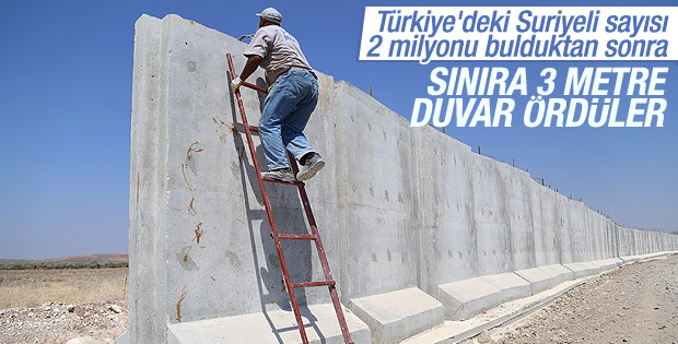 Türkiye'deki Suriyeli sayısı