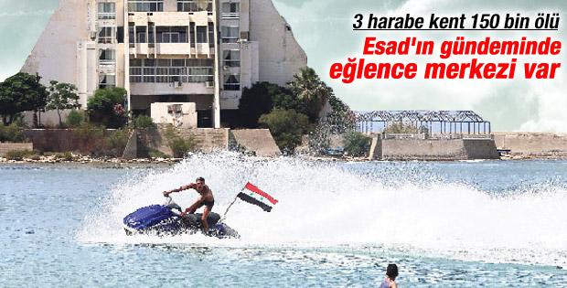Esad Lazkiye'ye eğlence merkezi kuracak
