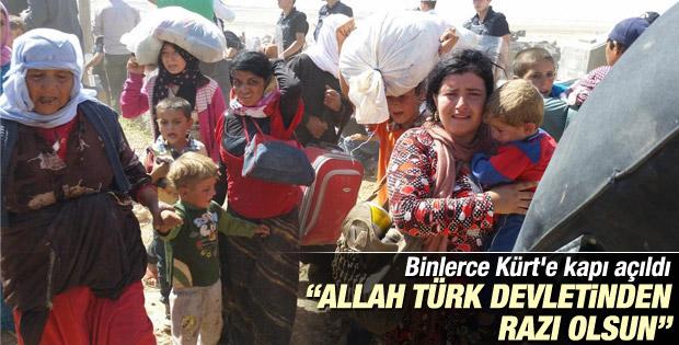 IŞİD'den kaçan Suriyeli Kürtler: Teşekkürler Türkiye İZLE