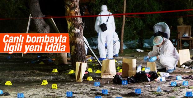 Suruç saldırısında canlı bomba hakkında yeni iddia