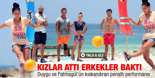 Survivor'da Fatmagül Fakı'nın penaltıları konuştu