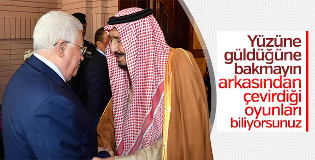 Suudi Arabistan'da Mahmud Abbas-Kral Selman görüşmesi