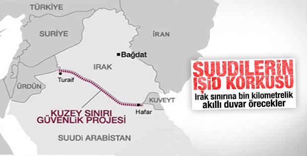 Suudi Arabistan IŞİD'e karşı Irak sınırına duvar örecek
