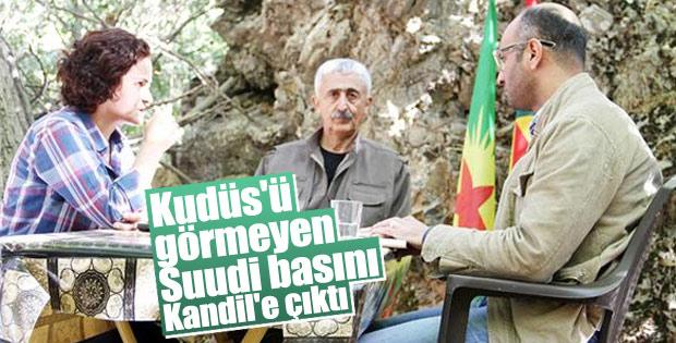 Suudi Arabistan gazetesi PKK ile röportaj yaptı