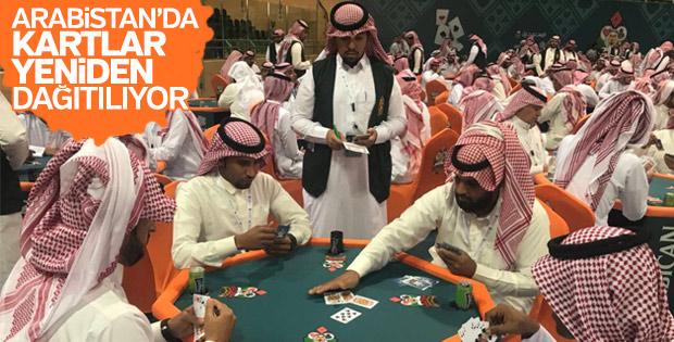 Suudi Arabistan'da iskambil şampiyonası