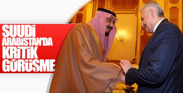 Başbakan Suudi Arabistan'da