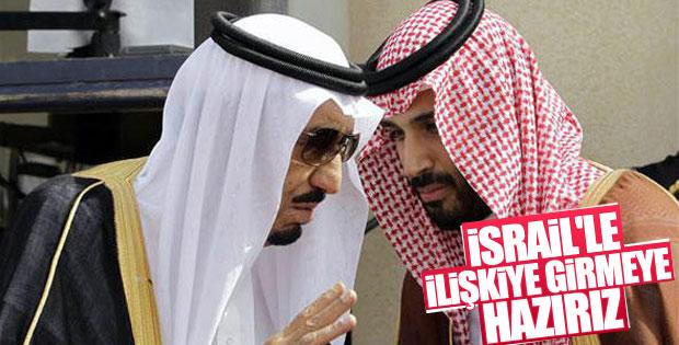 Suudi Arabistan, İsrail'le ilişki kurmaya hazır
