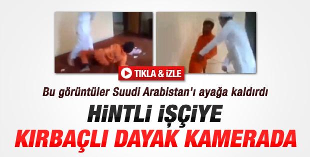 Suudi Arabistan'da dayak skandalı