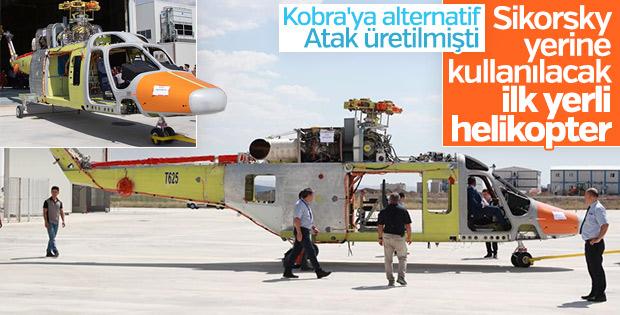 İlk özgün helikopterimiz T625