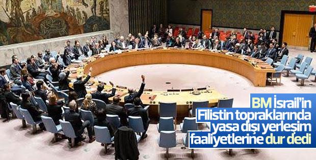 BM Güvenlik Konseyi'nden İsrail kararı