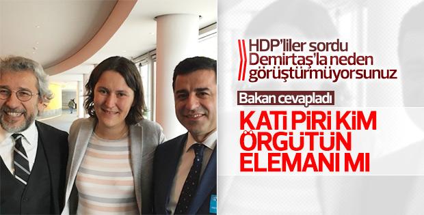 HDP'li Beştaş ile Bekir Bozdağ'ın Kati Piri diyaloğu