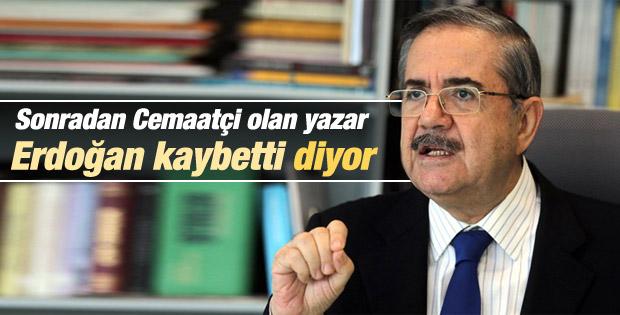 Taha Akyol: Erdoğan yüzde 55'in altında oy aldı