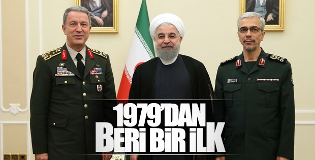 Genelkurmay Başkanı Tahran turuna çıktı