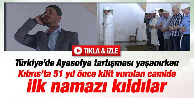 Tahtakale Camisi 51 yıl sonra yeniden ibadete açıldı