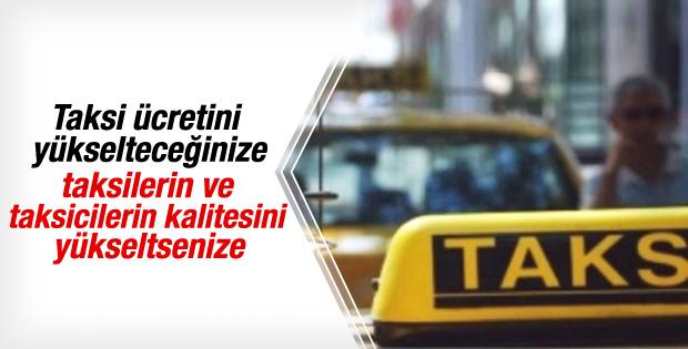İstanbul'da taksi ücretleri zamlandı