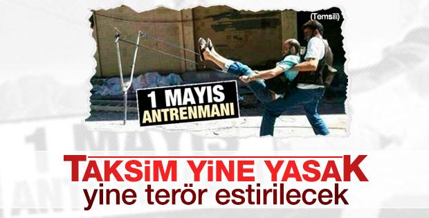 İstanbul Valiliği 1 Mayıs'ta Taksim'i yasakladı