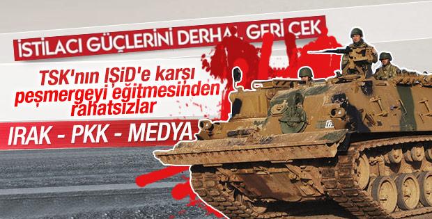 Erbil'den açıklama: Türk askeri neden mi geldi
