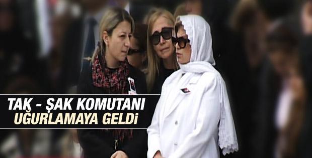 Doğan Güreş'in cenazesine Tansu Çiller de katıldı