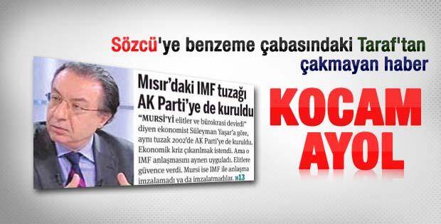 Taraf'taki Süleyman Yaşar haberindeki ayrıntı