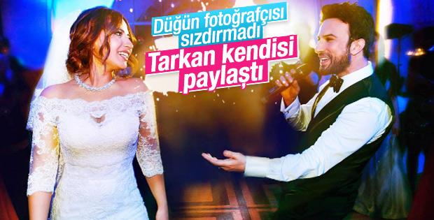 Tarkan düğününden fotoğraflar paylaştı