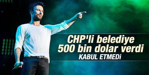 Tarkan Beşiktaş Belediyesi'ni reddetti