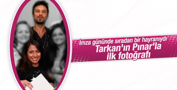Tarkan'ın Pınar Dilek'le yayınlanan ilk fotoğrafı