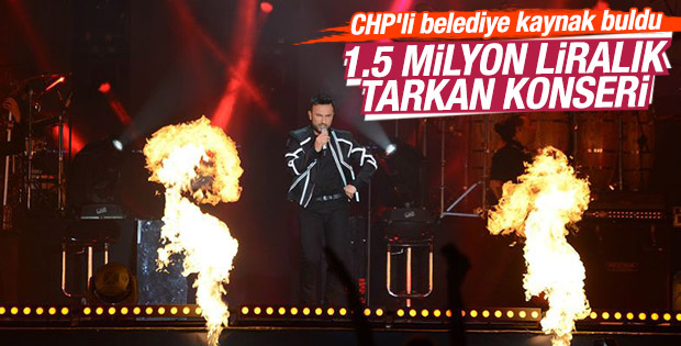 Tarkan'dan Beşiktaş'ta 19 Mayıs konseri