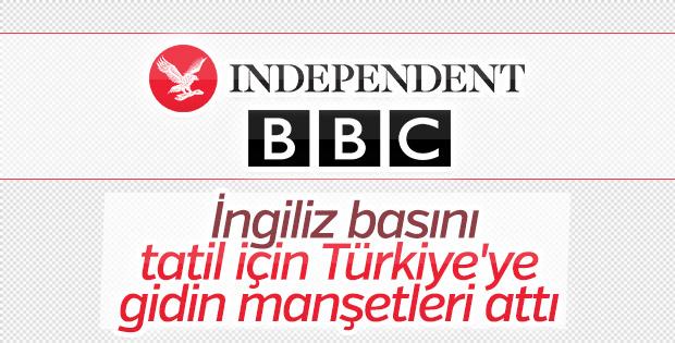 Independent: Tatil için Türkiye'ye gidin