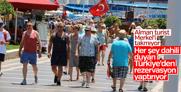 Almanya'dan Türkiye'ye tatil talebinde artış