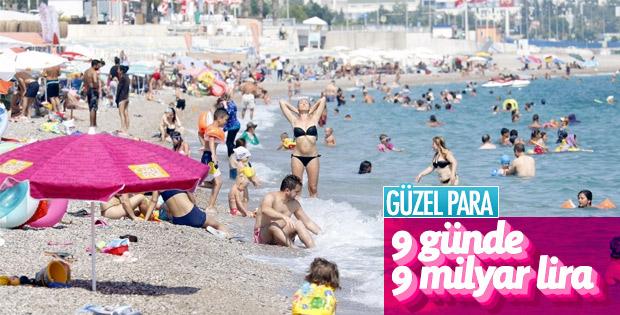 9 günlük tatil turizm sektörüne cansuyu oldu