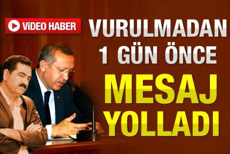 Tatlıses Erdoğan'a mesaj yollamış
