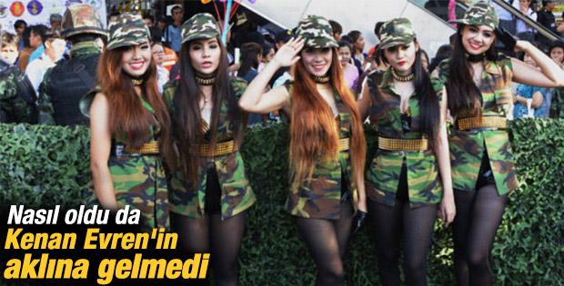 Darbeci Tayland ordusundan mutluluk açılımı