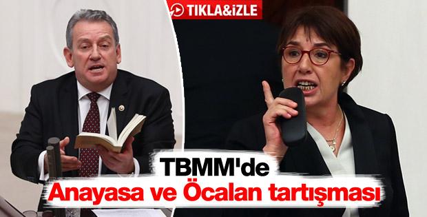 TBMM'de Anayasa ve Öcalan tartışması
