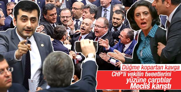 AK Partili ve CHP'li milletvekilleri arasında gerginlik