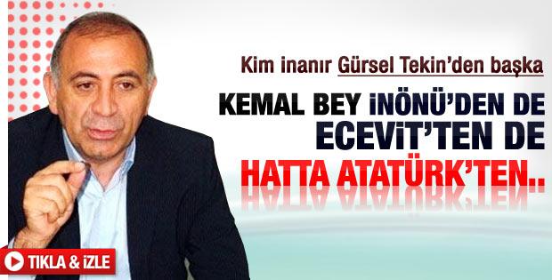 Tekin: Atatürk'ten sonra en güçlü lider Kılıçdaroğlu